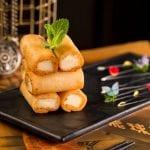 Roti Susu Goreng Renyah & Rosa Regale Brachetto d'Acqui DOCG