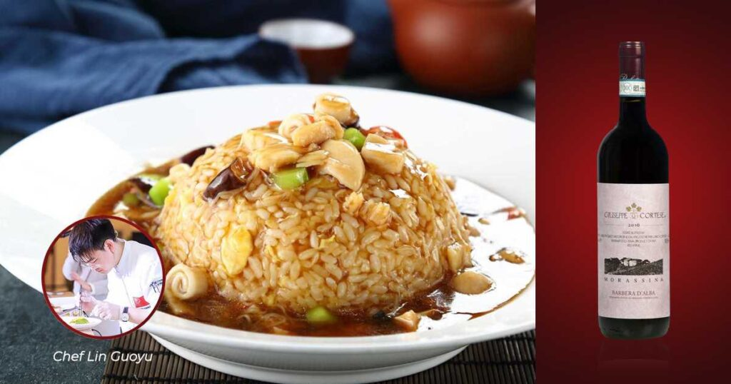 "Fujian Rice & ""Morassina"" Barbera d'Alba DOC 