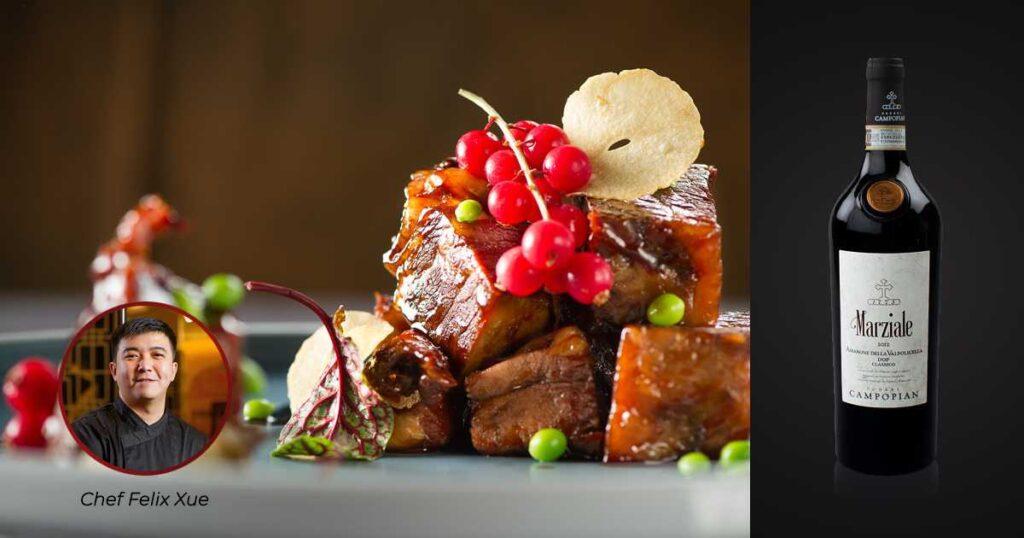 Chef's Xue Short Ribs & Amarone Della Valpolicella Classico DOCG | Wine & Food Pairing