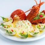 岩龙虾和滑蛋虾仁